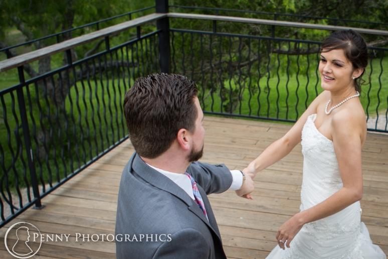 Wedding photos first dance at TerrAdorna in Manor, TX