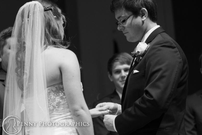 wedding ring exchange in Georgetown, TX