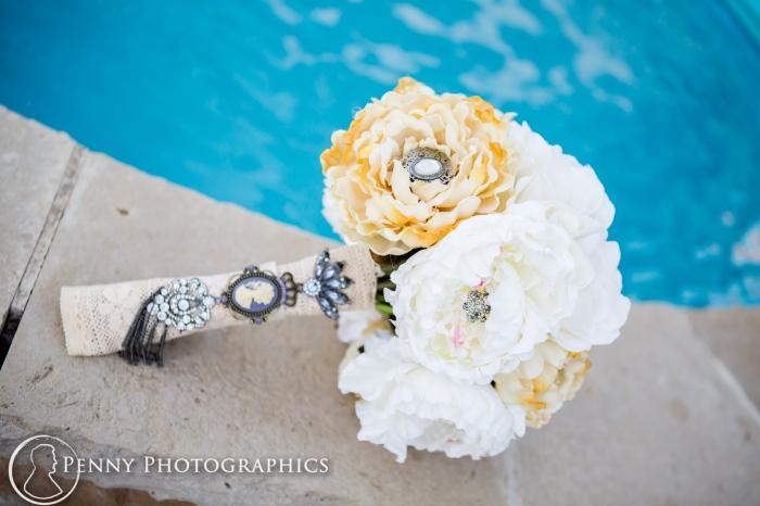 DIY paper wedding bouquet