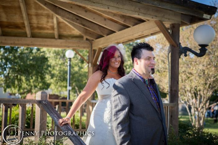 first glance at wedding