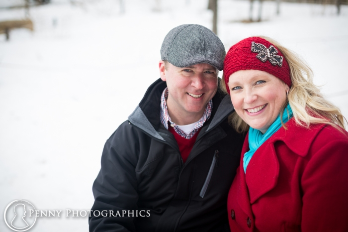 Engagement portraits outdoors MN