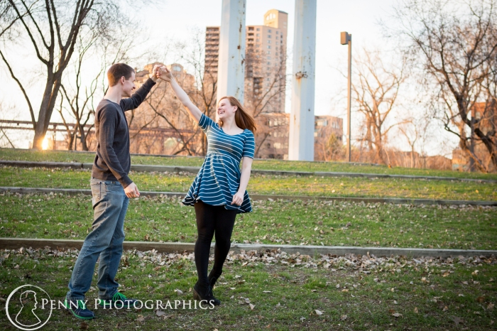 engagement by the Mill District MN
