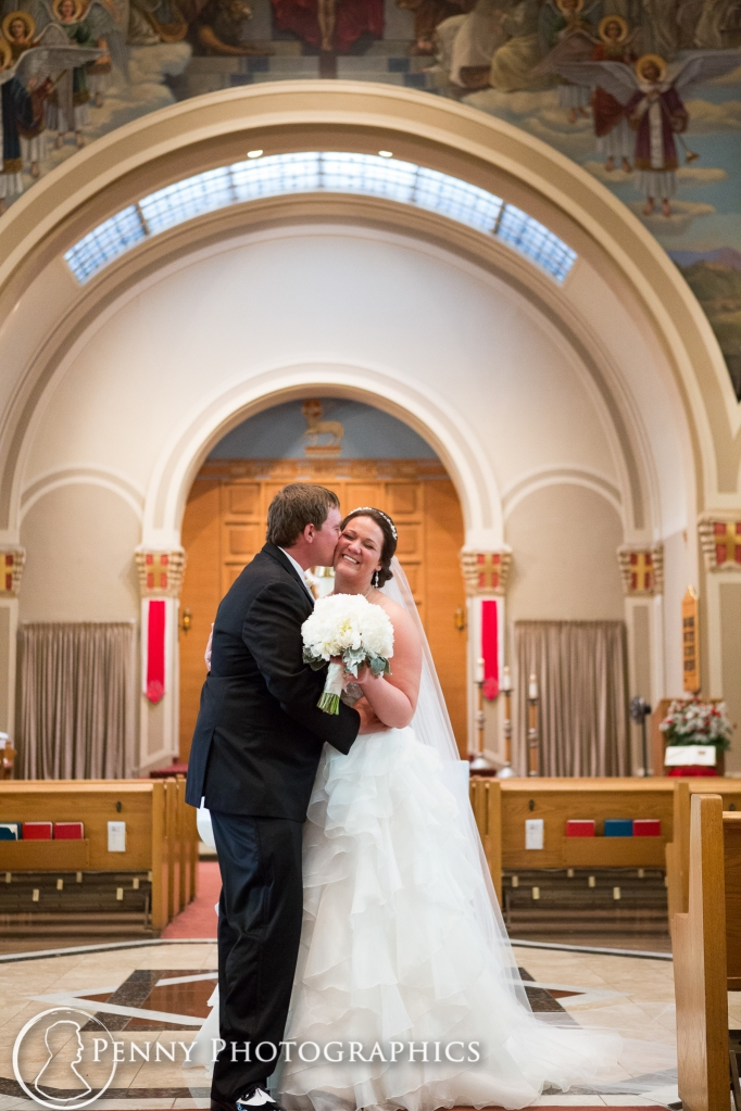 kissing at the alter in church Minneapolis