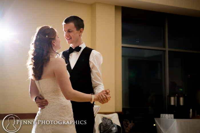 first dance at Pinstripes Minneapolis